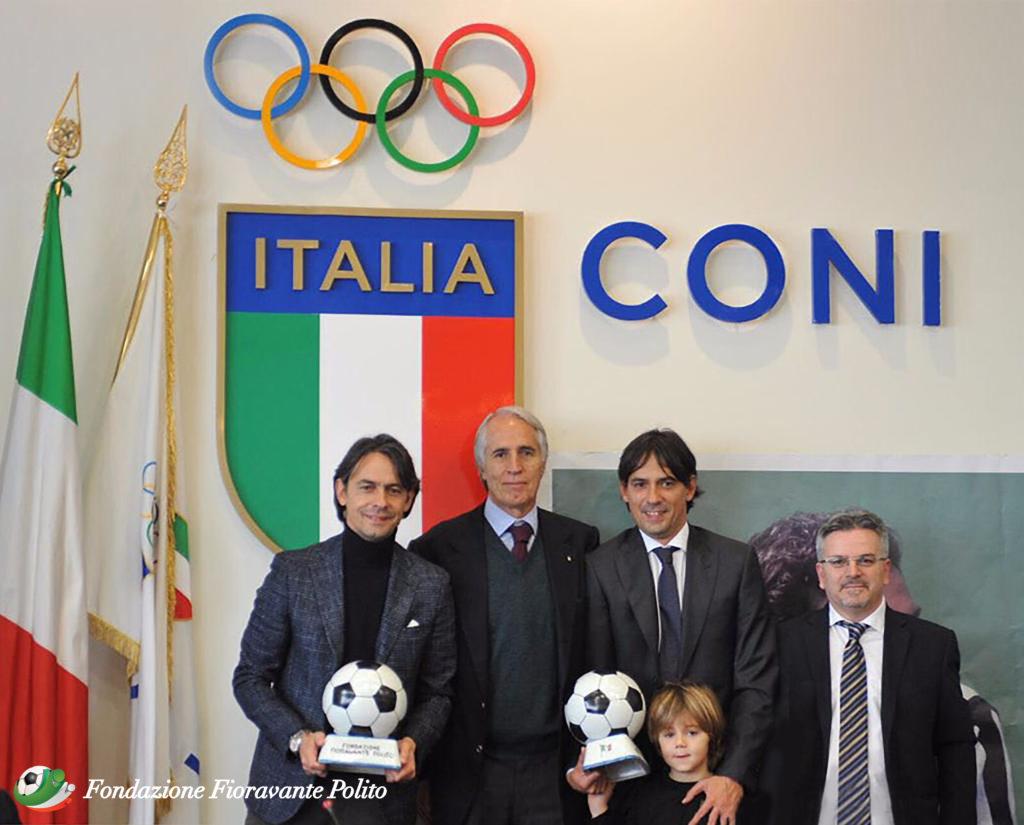 """Lo scorso 12 dicembre si è tenuta la IX Edizione del Premio """"Andrea Fortunato - Lo sport è vita"""", presso la Sala Giunta del CONI a Roma"""