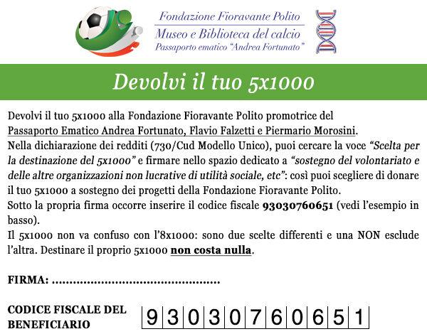 5x1000 - Fondazione Polito