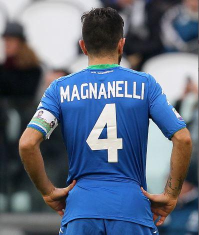 In occasione della sfida tra la Juventus e il Sassuolo, Francesco Magnanelli ha indossato la fascia di capitano del Passaporto Ematico