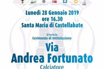Castellabate nel nome di Andrea Fortunato: il comune della cittadina salernitana annuncia l'intitolazione di una strada in suo onore