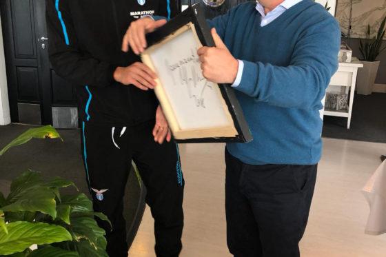 La Fondazione fa visita alla Lazio in ritiro
