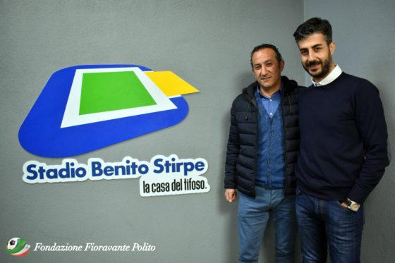La Fondazione fa visita al presidente del Frosinone Maurizio Stirpe