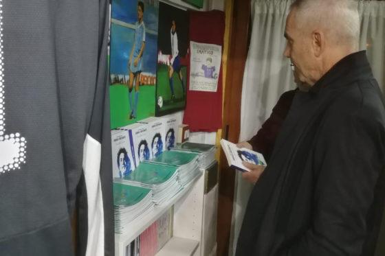 Federico Buffa visita il Museo del Calcio