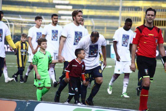 Juve Stabia-Salernitana a sostegno del Passaporto Ematico