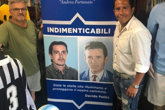 Protti e Merino al Museo del Calcio