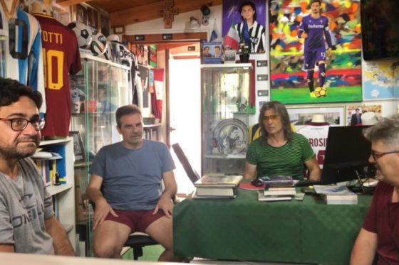 Antonino Milone (Tuttosport) al Museo del Calcio
